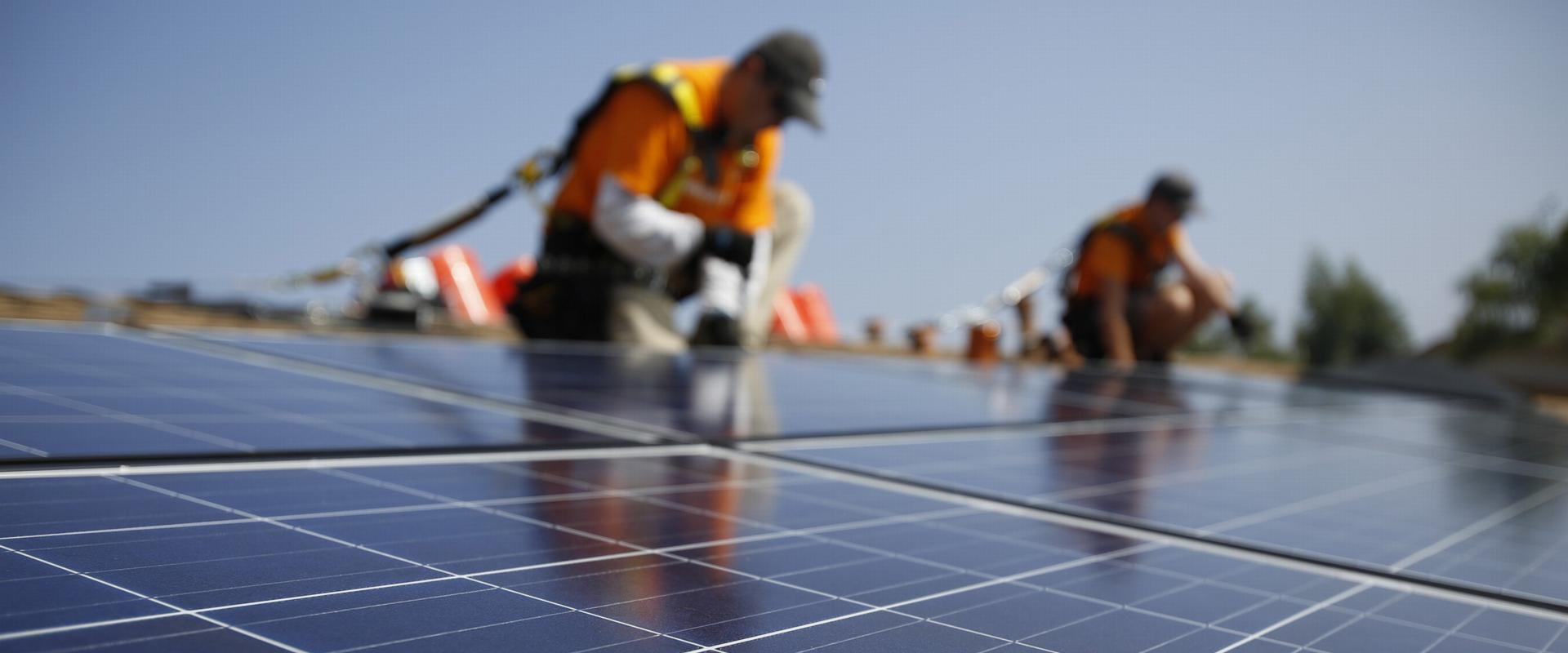 Solelpotential på stora takytor går till spillo